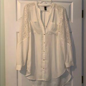 Chico's Black Label Long blouse